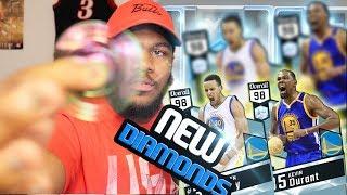 NBA 2k17 MyTEAM - Ultimate Fidget Spinner! Multiple Diamond Pulls! New 98 Finals MVP KD + Steph!