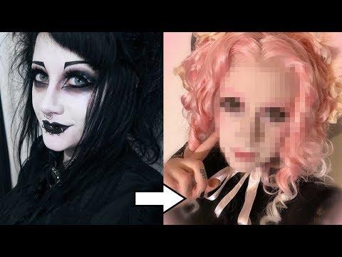 Goth to Sweet Lolita Transformation! | Black Friday
