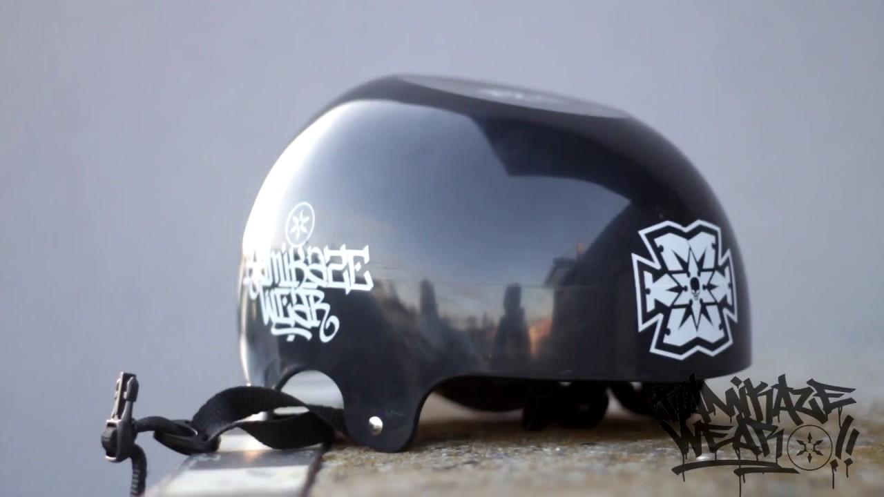 24e8e377b Kamikaze Wear Promo teaser - Get your flat top headspin helmet!!!!