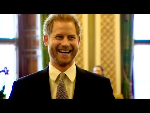 Watch as Prince Harry Laughs Off Question About His Future at First Royal Appearance Since Drama