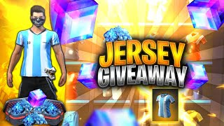Free Fire Live || Jersey Giveaway || Play With Me and Win Diamonds || Rush Gameplay