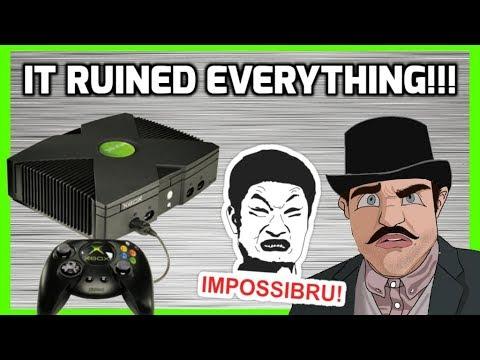 The Original Xbox Ruined Gaming! - Top Hat Gaming Man