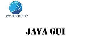 Урок №12 Java GUI  JOptionPane (диалоговые окна) часть 1