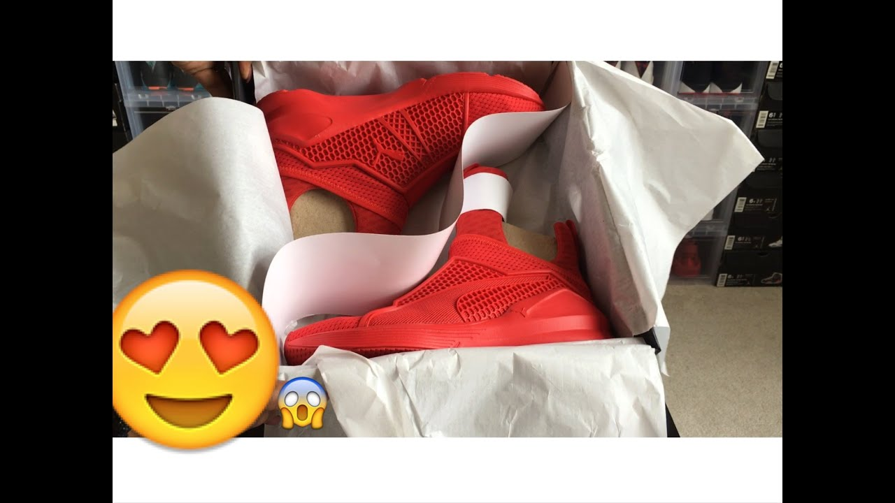size 40 5762c cc516 Rihanna Fenty Trainer Puma x (RED) Review/On Foot!!