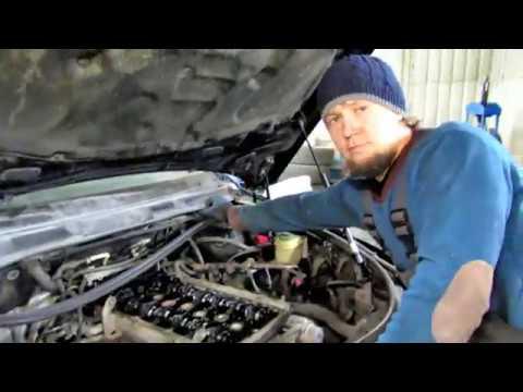 Снятие двигателя и Замена цепи Туарег 3.2 Volkswagen Touareg Часть 2.