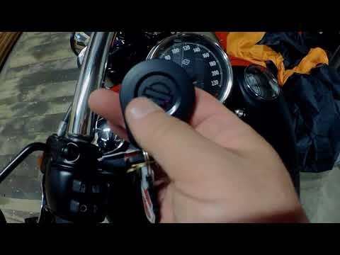 Harley Davidson 2017 Fatbob how to disable security Chirp