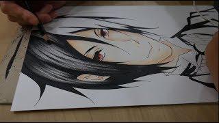 Drawing Sebastian Michaelis - Black Butler (Kuroshituji)