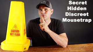 I Have A Secret Mousetrap. The Discreet Hidden Rodent Trapping System. Mousetrap Monday