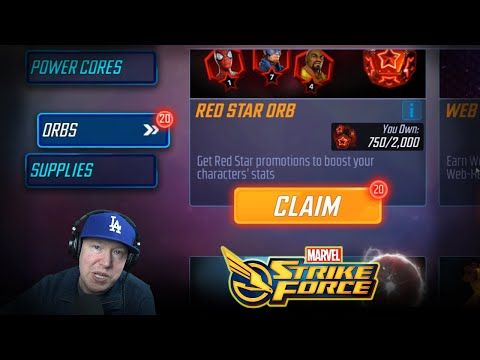 Free 20 Red Star ORBS - What Did You Pull? - Marvel Strike Force - MSF