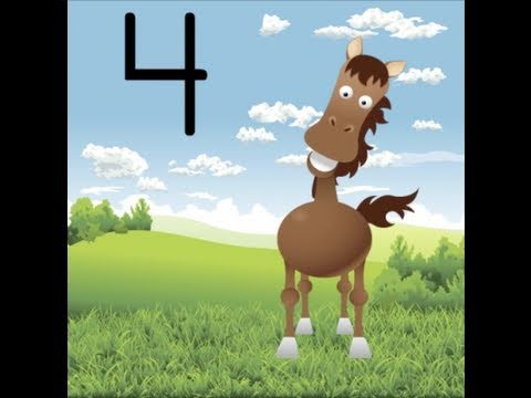 Counting By Fours Song (Learn to Count by 4 for Kids)