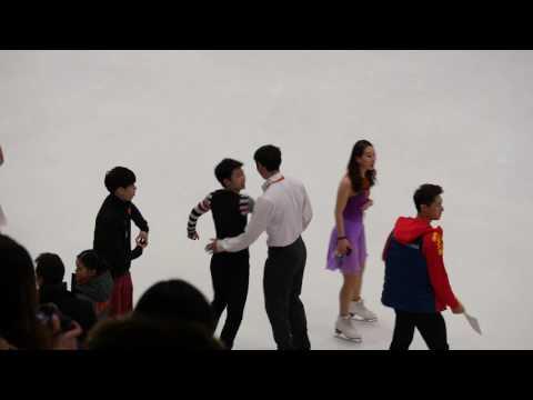 Boyang JIN and Yang JIN Throw Jump