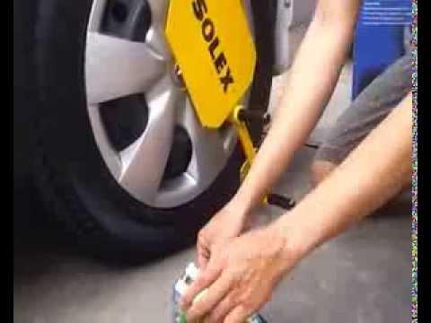 Solexล็อคล้อ,ล็อคล้อกันขโมย,ล็อคล้อรถยนต์,ล็อคล้อSolex,ป้องกันรถหาย,