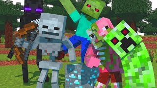 "🎵  ""MONSTER SCHOOL"" - Minecraft Animation Song"