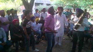 ranjit bawa and a man from patalia in gndu university during youth fst....