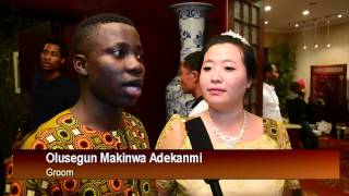 NIGERIAN-CHINESE WEDDING IN BEIJING