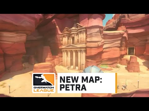 First Look at New Map: Petra | Overwatch League