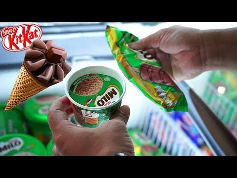 PAPA BELI ES KRIM 😋 Drama Olahraga malah makan Ice Cream Milo