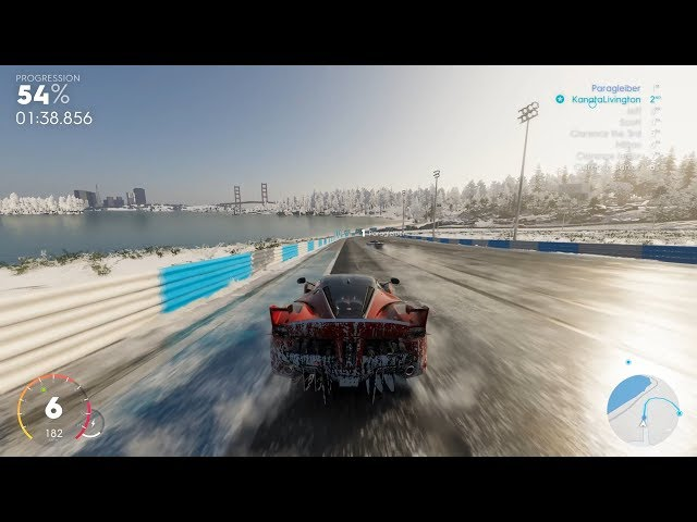 The Crew 2 - LV320 Ferrari FXX K Touring Car (July Update) + Snow, Dry and Wet Races