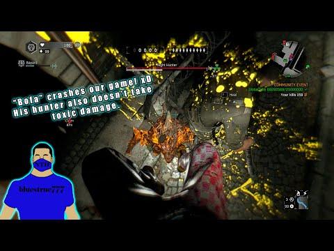 "Dying Light - 2v1 against ""Bofa"" Ft. ""Baryard"". (hunter crashes our game, doesn't take toxic damage)  "