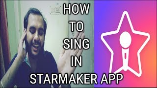 How to sing in Starmaker Android app?  Starmaker Android app review  Starmaker Android app highlight screenshot 2