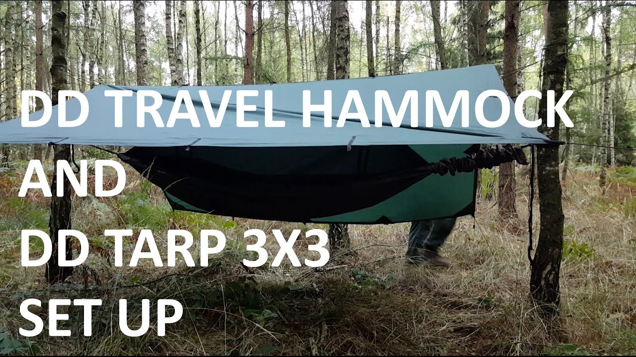 dd travel hammock and dd tarp 3x3 setup  napisy pl    youtube  rh   youtube