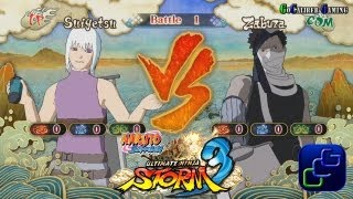 Naruto Shippuden: Ultimate Ninja Storm 3 - Gameplay - Free Battle Suigetsu VS Zabuza