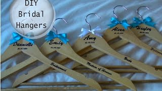 DIY: Personalised Wedding Bridal Hangers Thumbnail