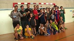DHB-Team besucht deutsche Schule in Katar