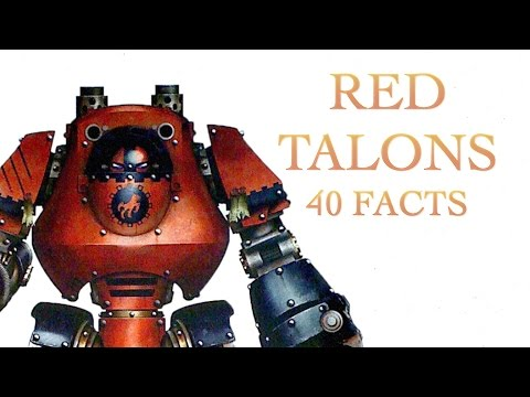 40 Facts and Lore on the Red Talons Warhammer 40K Spacemarine
