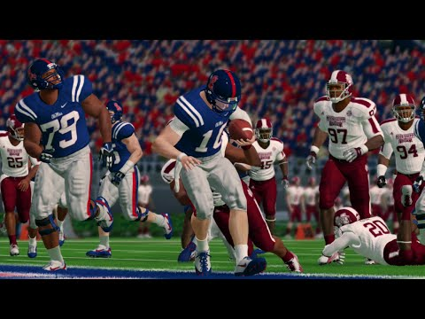 NCAA Football 14 Season 2016-2017 Mississippi State Bulldogs vs Ole Miss Rebels