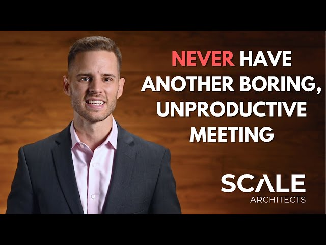 Never have another boring, unproductive meeting
