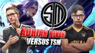 Adrian Riven vs TSM Broken Blade & Bjergsen Duo