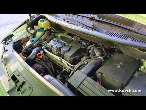 Причина плохого запуска Volkswagen Caddy с насос форсунками