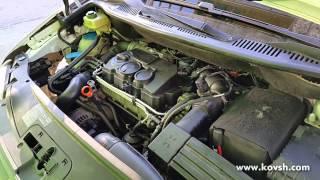 причина плохого запуска Volkswagen Caddy с насос-форсунками