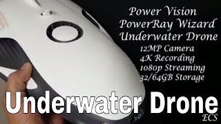 Worlds First Underwater Drone W/ 4K Camera | Unboxing & Submerging  | Power Vision PowerRay Wizard