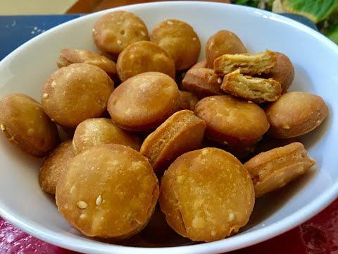 గోధుమపిండితో-కరకరలాడే-రుచికరమైన-బిస్కెట్లు-||-wheat-flour/atta-biscuits-recipe(snack)