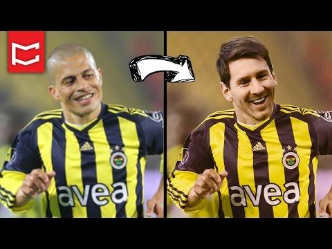 Photoshop Yüz Değiştirme Ile Forma Giydirme - Messi Fenerbahçe'de