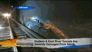 Hudson & East River Amtrak Tunnels Falling Apart