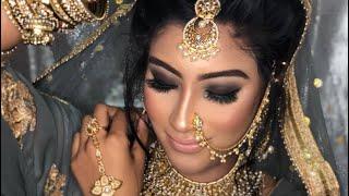 dark_dusky skin tone /asian skin tone Bridal makeover