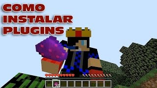COMO INSTALAR PLUGINS NO SERVER DE MINECRAFT