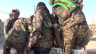 أخبار حصرية   قوات سوريا الديمقراطية على مشارف حي حطين وسط #الرقة