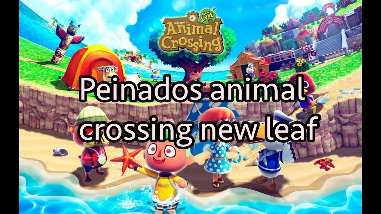 Completamente imperfecto animal crossing peinados Fotos de estilo de color de pelo - Peinados Animal Crossing New Leaf ¡Los mejores!! - YouTube