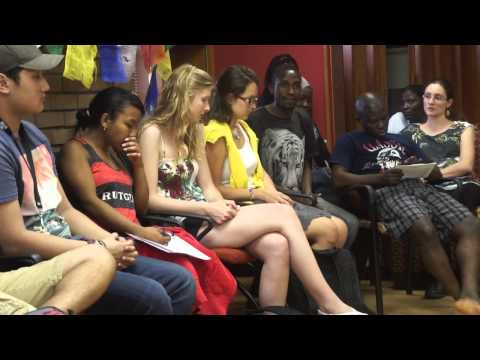 The End Of Poverty (?) Film Discussion with 25 YALI Washington Fellows pt 6
