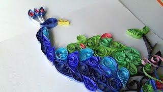 Paper Quilling Art // Filigrana - 1st Attempt ♥