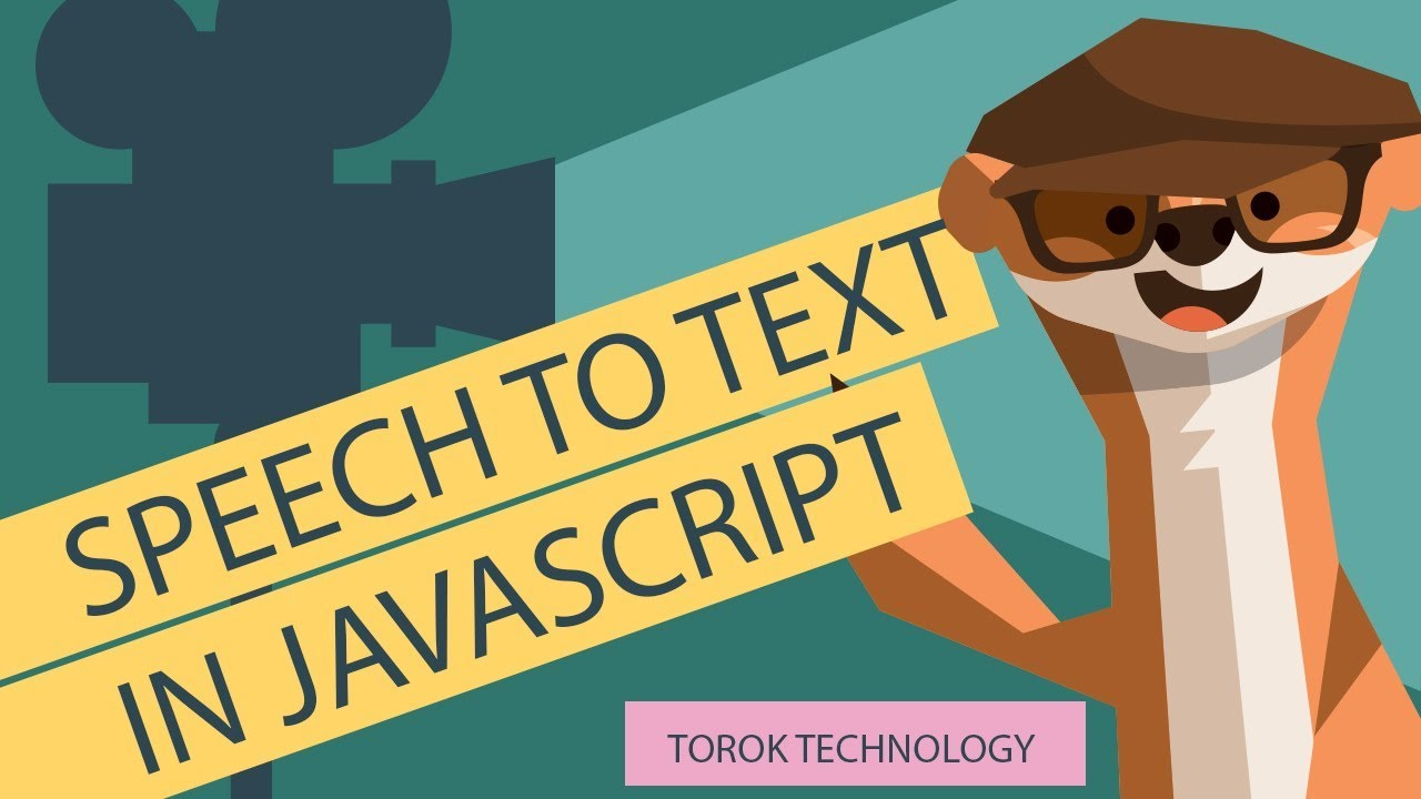 How to Convert Speech and Audios to Text with JavaScript