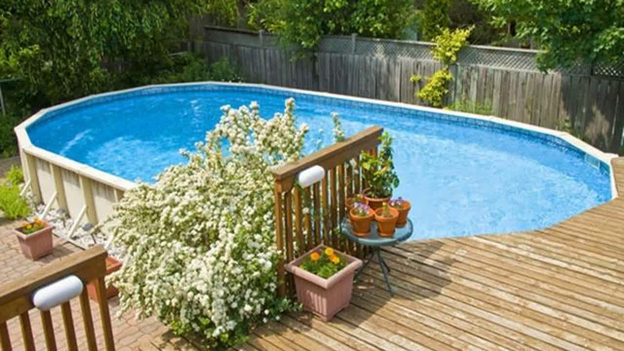 Untergrund Fur Pool Im Garten