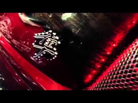 HAYABUSA CUSTOM NEW HUGE FRAME SLIDERS - YouTube