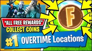 *FREE REWARDS* Collect Coins in Featured Creative Islands (Fortnite SEASON 8 OVERTIME CHALLENGES)
