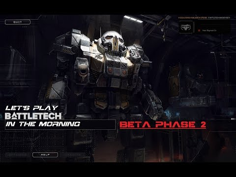 Let's Play BATTLETECH in the Morning! - Premature Refit: Stalker 3F and Laser Refit