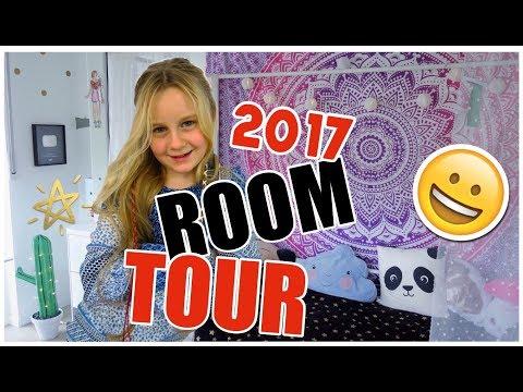 so sehr gewünschte ROOMTOUR 2017 ❣ Zimmer Deko 🌵coole Mädchen